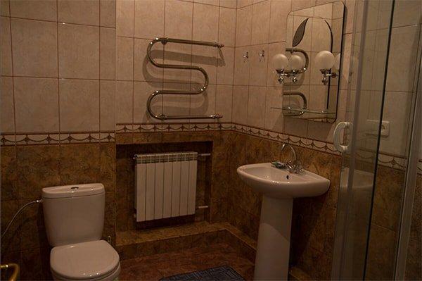Санаторий «Украина» Ворзель  Одноместный двухкомнатный люкс Фото №1