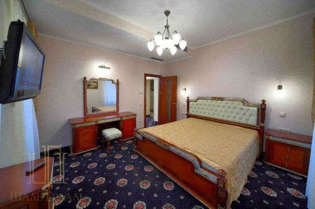 Санаторий «Шале Грааль» Трускавец Трехкомнатные апартаменты (Junior Suite Apart) Фото №2