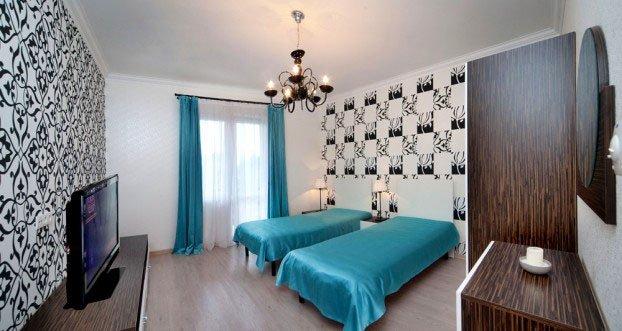 Санаторий «Шале Грааль» Трускавец Двухуровневые Апартаменты (Queen Suite Apart) Фото №1