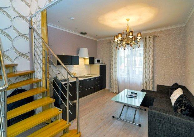Санаторий «Шале Грааль» Трускавец Двухуровневые Апартаменты (Queen Suite Apart) Фото №2