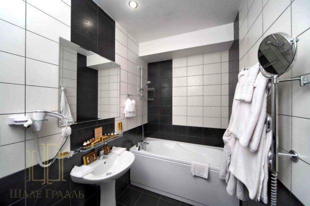Санаторий «Шале Грааль» Трускавец Двухуровневые Апартаменты (Queen Suite Apart) Фото №5