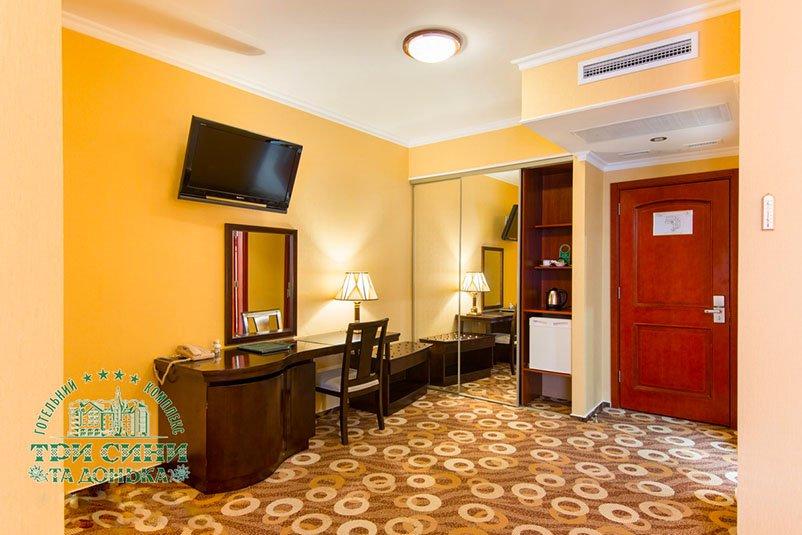 Отель «Три Cына и Дочка 4 *» Сходница Стандарт Улучшенной Планировки Фото №2