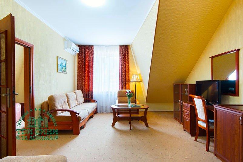 Готель «Три Cини та Донька 4 *» Східниця  Двокімнатний Люкс Фото №2