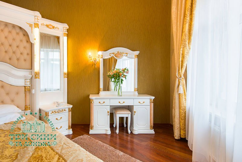 Готель «Три Cини та Донька 4 *» Східниця  Дворівневий Люкс Фото №2