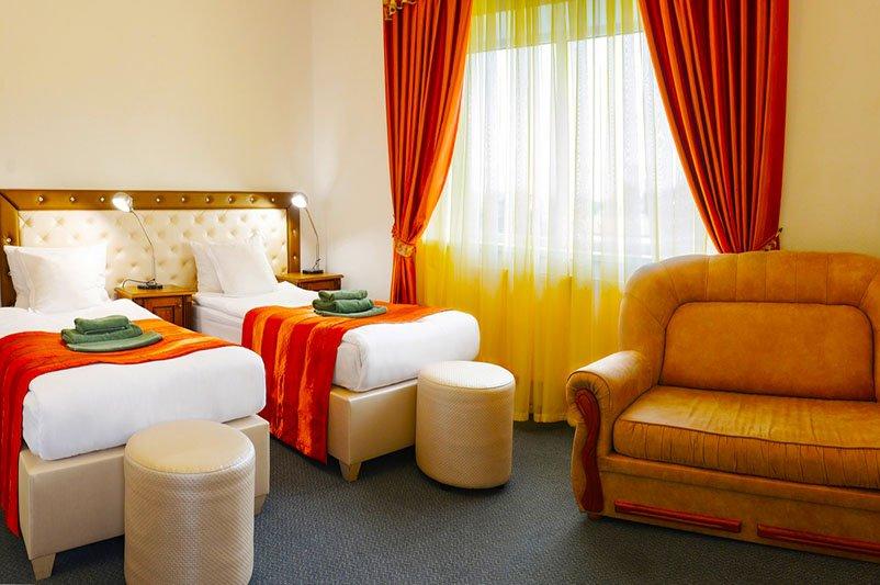 Отель «ДиАнна» Сходница Однокомнатный Стандарт Classic Фото №5