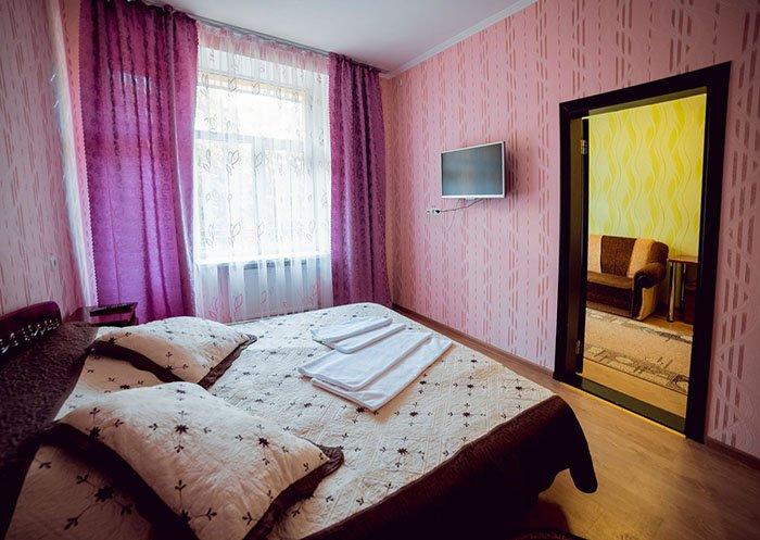 Санаторій «Поділля» м.Хмільник 2- х кімнатний Люкс (корпус №3) Фото №5