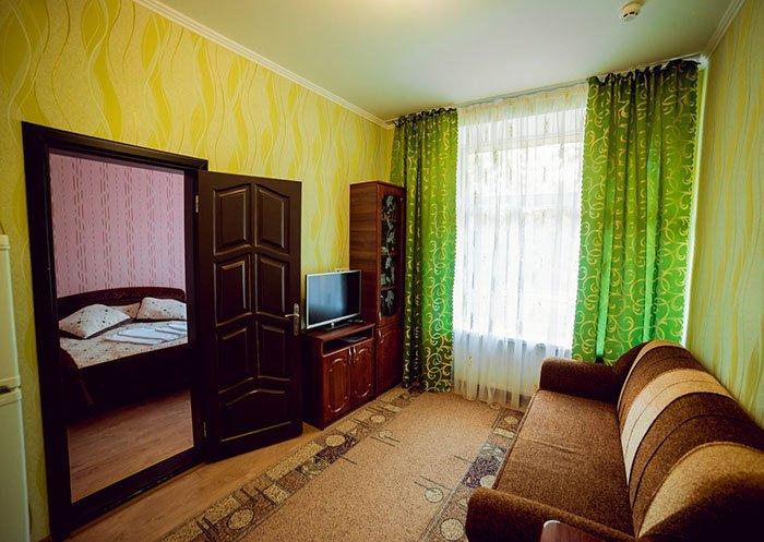 Санаторій «Поділля» м.Хмільник 2- х кімнатний Люкс (корпус №3) Фото №4