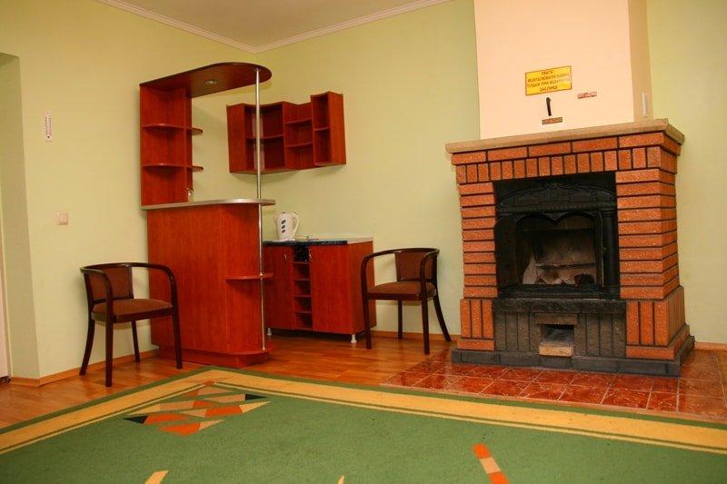 Санаторий «Березовый Гай» Хмельник 2-х комнатный Люкс с камином Фото №3