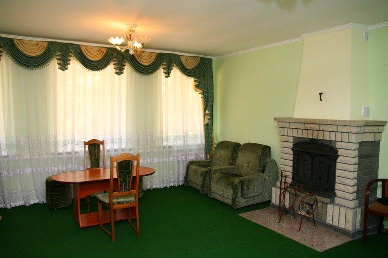 Санаторий «Березовый Гай» Хмельник 2-х комнатный Люкс с камином Фото №4