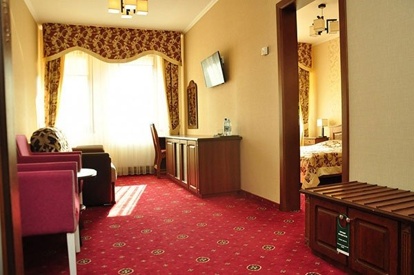 Отель «Жаворонок» Берегово Люкс (108с, 109С, 110С) Фото №6