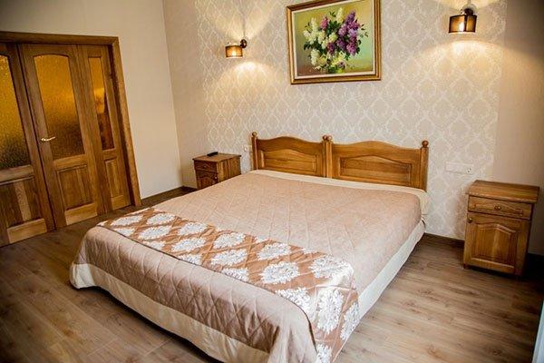Отель «Жаворонок» Берегово Люкс с детской комнатой (104D, 206D) Фото №2