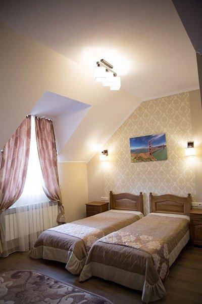 Отель «Жаворонок» Берегово Стандарт (301D - 309D) Фото №1