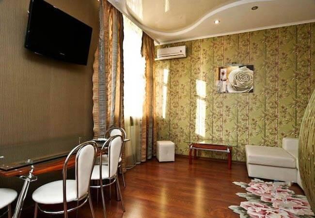 Санаторий «Березовый гай» Миргород  Люкс 2-комнатный (категория а повышенный) Фото №4